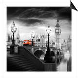London Bus III Prints by Jurek Nems