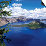 Crater Lake at Crater Lake National Park, Oregon, USA Prints by Green Light Collection