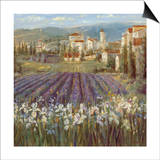 Provencal Village Prints by Michael Longo
