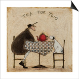 Tea for Two Prints by Sam Toft