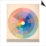 Rudolph Schaeffer, Color Wheel; Archive of American Art Posters