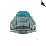 Aston Martin Art by Barry Goodman