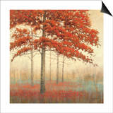 Autumn Trees II Posters by James Wiens