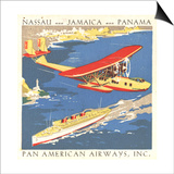 National Air and Space Museum: Pan American Airways Prints