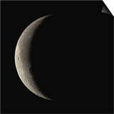 Waning Crescent Moon Prints by Eckhard Slawik
