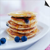 Blueberry Pancakes Prints by David Munns