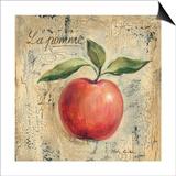 La Pomme Posters by Silvia Vassileva