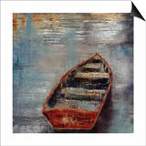 The Row Boat Print by Alexys Henry