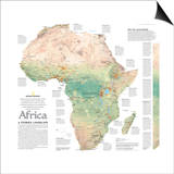 2005 Africa, A Storied Landscape Map Prints