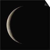 Waning Crescent Moon Print by Eckhard Slawik