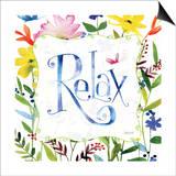Relax Print by Anne Tavoletti