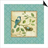 Birds Home I Prints by Daphne Brissonnet
