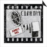 Cinema Poster by Hugo Wild