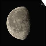 Waning Gibbous Moon Posters by Eckhard Slawik