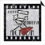 Lights Camera Action Prints by Hugo Wild