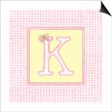 Girl Letter K Prints by  Vision Studio