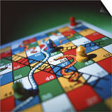 Snakes And Ladders Poster by Tek Image