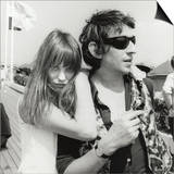 Serge Gainsbourg and Jane Birkin, July 23, 1970 Posters by Luc Fournol