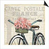 Paris Ride II Print by  Pela