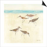 Sand Pipers Square II Posters par Avery Tillmon