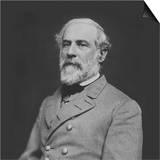 Vintage Civil War Photo of Confederate Civil War General Robert E. Lee Print