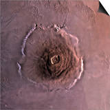 Olympus Mons, the Largest known Volcano in the Solar System Prints by  Stocktrek Images