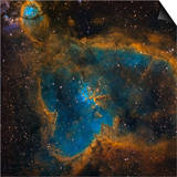 Ic 1805, the Heart Nebula Prints