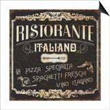 Italian Cuisine I Poster by  Pela