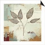 Silver Leaves III Prints by James Wiens