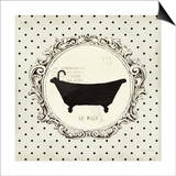 Cartouche Bath Prints by Emily Adams