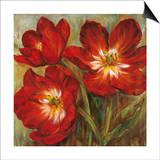 Flamenco Reds Poster by Liv Carson