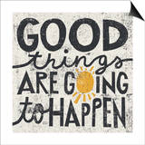 Michael Mullan - Good Things are Going to Happen Obrazy