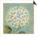 Hydrangea Square I Prints by Daphne Brissonnet