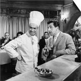 Jean Lefebvre and Louis de Funes: Le Gentleman D'Epsom, 1962 Prints by Marcel Dole