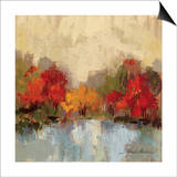 Fall Riverside I Prints by Silvia Vassileva