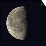 Waning Gibbous Moon Prints by Eckhard Slawik