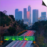 Route 110, Los Angeles, California, United States of America, North America Prints
