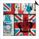 British Rock I Prints by Mo Mullan