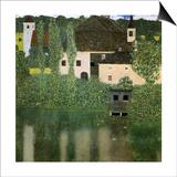 Water Castle, 1908 Posters by Gustav Klimt