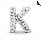 Letter K, From Voleyballs Poster by  iunewind