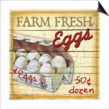 Farm Fresh Eggs Prints by Kate Ward Thacker