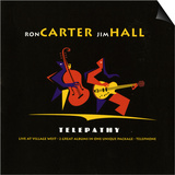 Ron Carter and Jim Hall, Telepathy Art