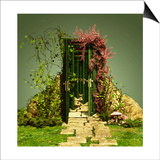 A Curious Entrance Prints by Atelier Sommerland