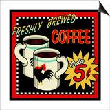 Freshly Brewed Coffee Prints by Kate Ward Thacker