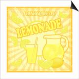 Lemonade Poster Plakater af radubalint