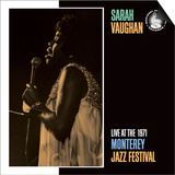 Sarah Vaughan, Live at the 1971 Monterey Jazz Fest Poster