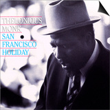 Thelonious Monk - San Francisco Holiday Prints