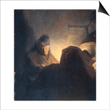 A Scholar in his Study Prints by  Rembrandt van Rijn