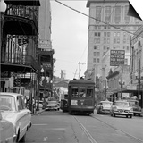 St. Charles Avenue and Poydras Street in New Orleans Posters