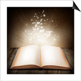 Open Magic Book Posters by  egal